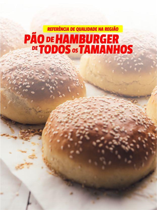 Pão de Hamburger de todos os tamanhos