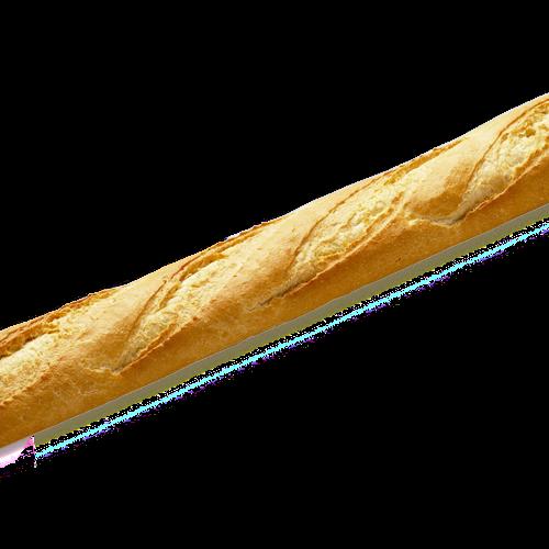 PÃO FRANCÊS GUFÊ 50cm 1X1